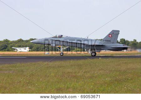 Swiss Air Force F-18 Hornet