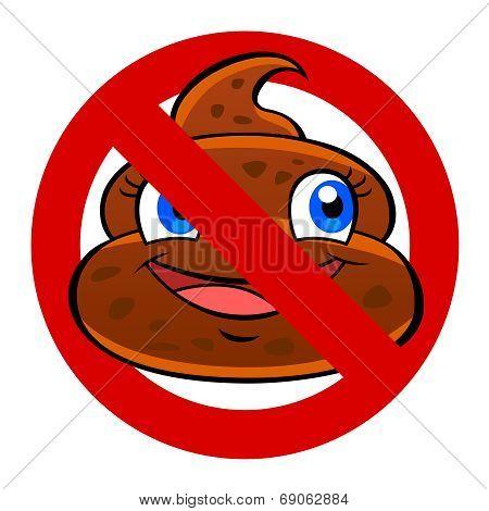 Anti Poo Sign