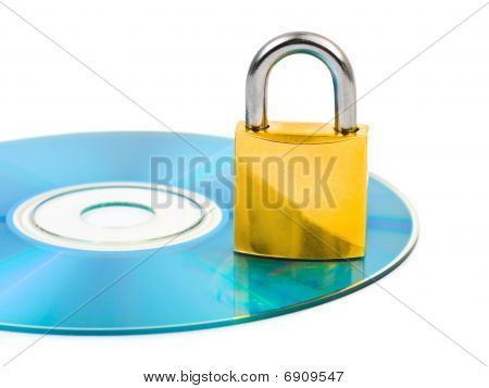 Computer Disk And Lock