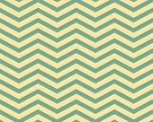 Green and Yellow Chevron Zigzag Textured Fabric Pattern Background that is seamless and repeats poster