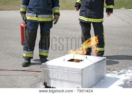Training fire control