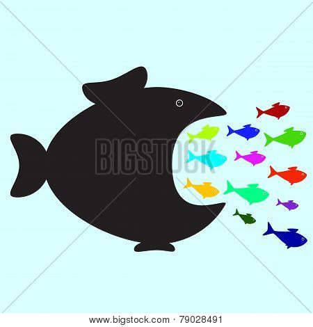 Big And Small Fishes