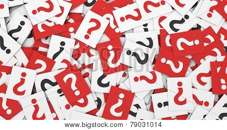 Question Mark Symbol Concept