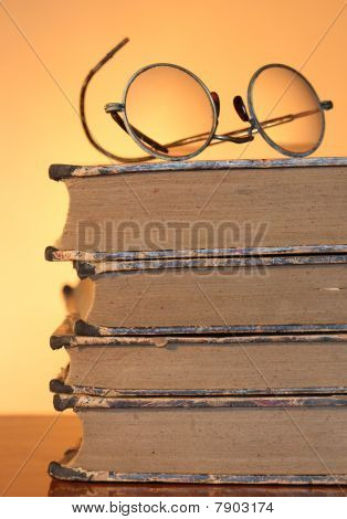 Old Spectacles And Books