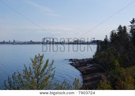 Duluth from afar