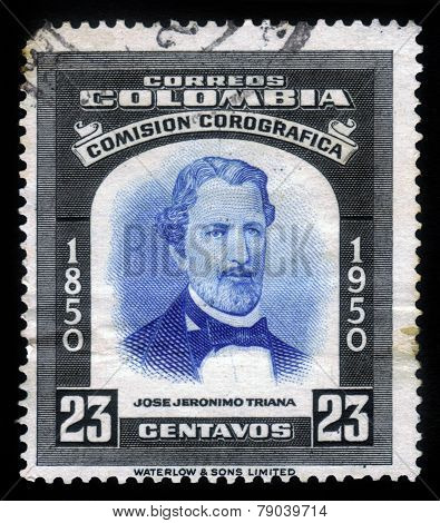 Portrait Of Jose Jeronimo Triana, Colombian Botanist