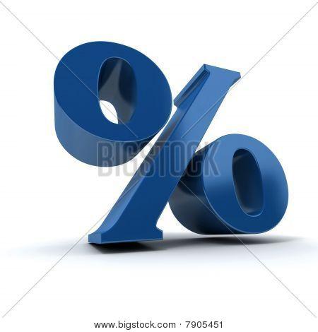 Blue Percentage