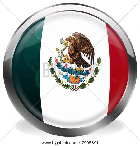 button flag of mexico