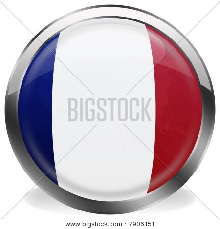 button flag of france