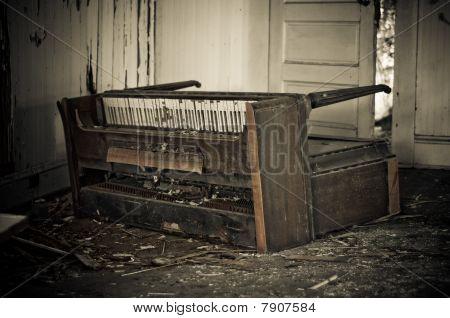 Damaged Piano
