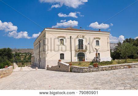 Madonna del Sabato Sanctuary. Minervino Murge. Puglia. Italy. poster