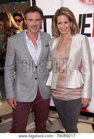 LOS ANGELES - MAY 30:  SAM TRAMMELL & WIFE arrives to
