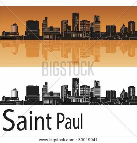 Saint Paul Skyline