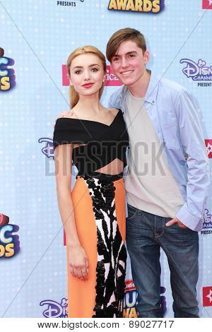 LOS ANGELES - APR 25:  Peyton List at the Radio DIsney Music Awards 2015 at the Nokia Theater on April 25, 2015 in Los Angeles, CA