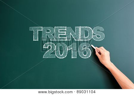 writing trends 2016 on blackboard