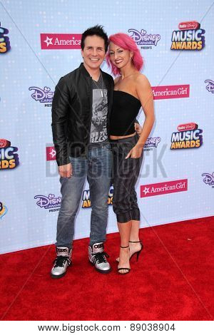 LOS ANGELES - APR 25:  Hal Sparks at the Radio DIsney Music Awards 2015 at the Nokia Theater on April 25, 2015 in Los Angeles, CA