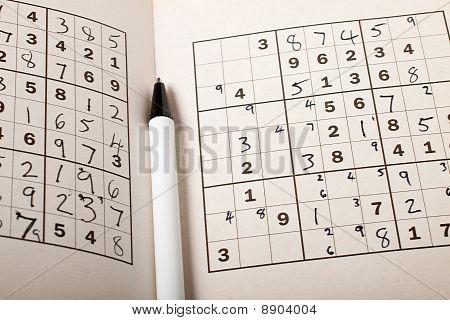 Sudoku Close-up