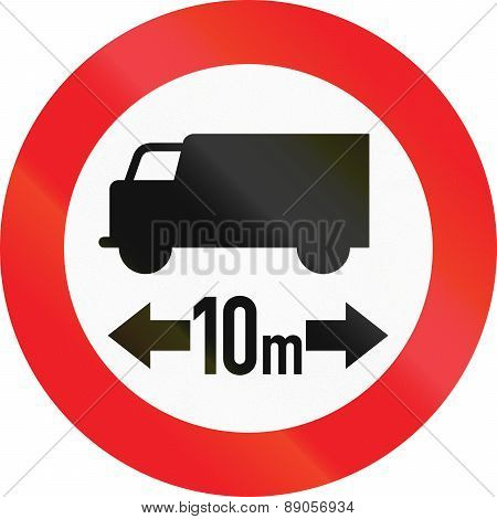 Lorry Length Limit In Austria