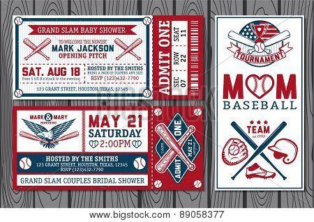 Baseball labels