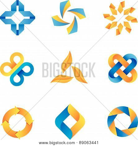 cool loop able logos and icons