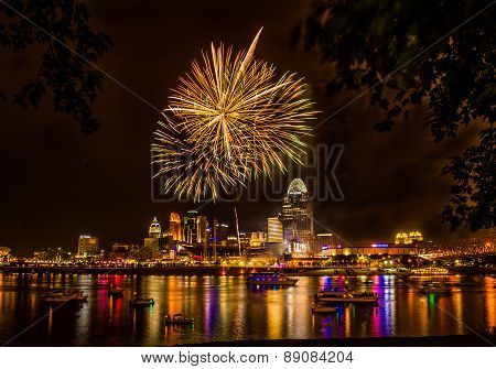 Firework on the River