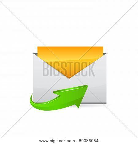 E-mail icon. Vector