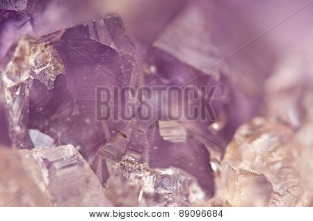 Amethyst Is Violet Variety Of Quartz Often Used In Jewelry