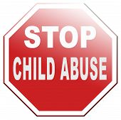 stop child abuse neglection and violence toward children no physical and psychological harassment they need protection poster
