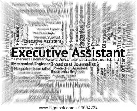 Executive Assistant Means Senior Manager And Pa