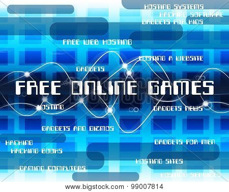 Free Online Games Means With Our Compliments And Web