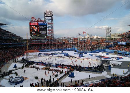 Winter Classic at Citizens Bank Park in Philadelphia