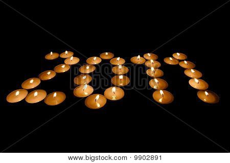 Year From Burning Candles