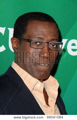 LOS ANGELES - AUG 13:  Wesley Snipes at the NBCUniversal 2015 TCA Summer Press Tour at the Beverly Hilton Hotel on August 13, 2015 in Beverly Hills, CA
