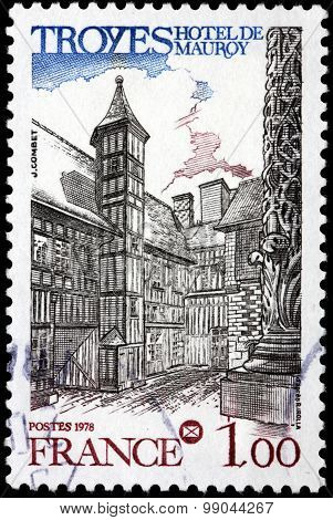 Troyes Stamp
