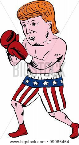 Donald Trump 2016 Republican Boxer