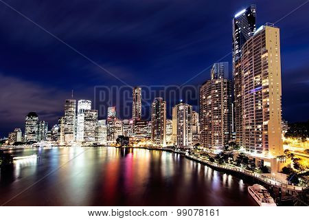 View of Brisbane City from the Story Bridge, Brisbane