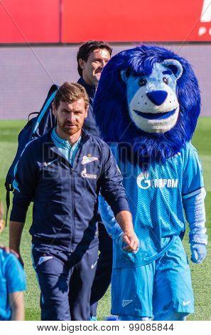 Zenit Saint-petersburg Head Coach Andre Villas-boas
