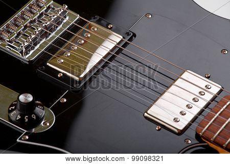 Black Electric Guitar Strings