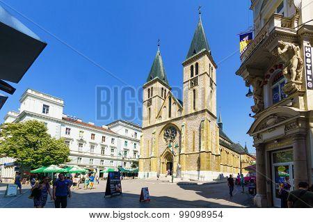 Sacred Heart Cathedral, Sarajevo