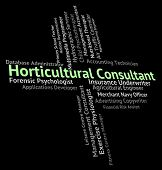 Horticultural Consultant Meaning Horticulture Authority And Adviser poster