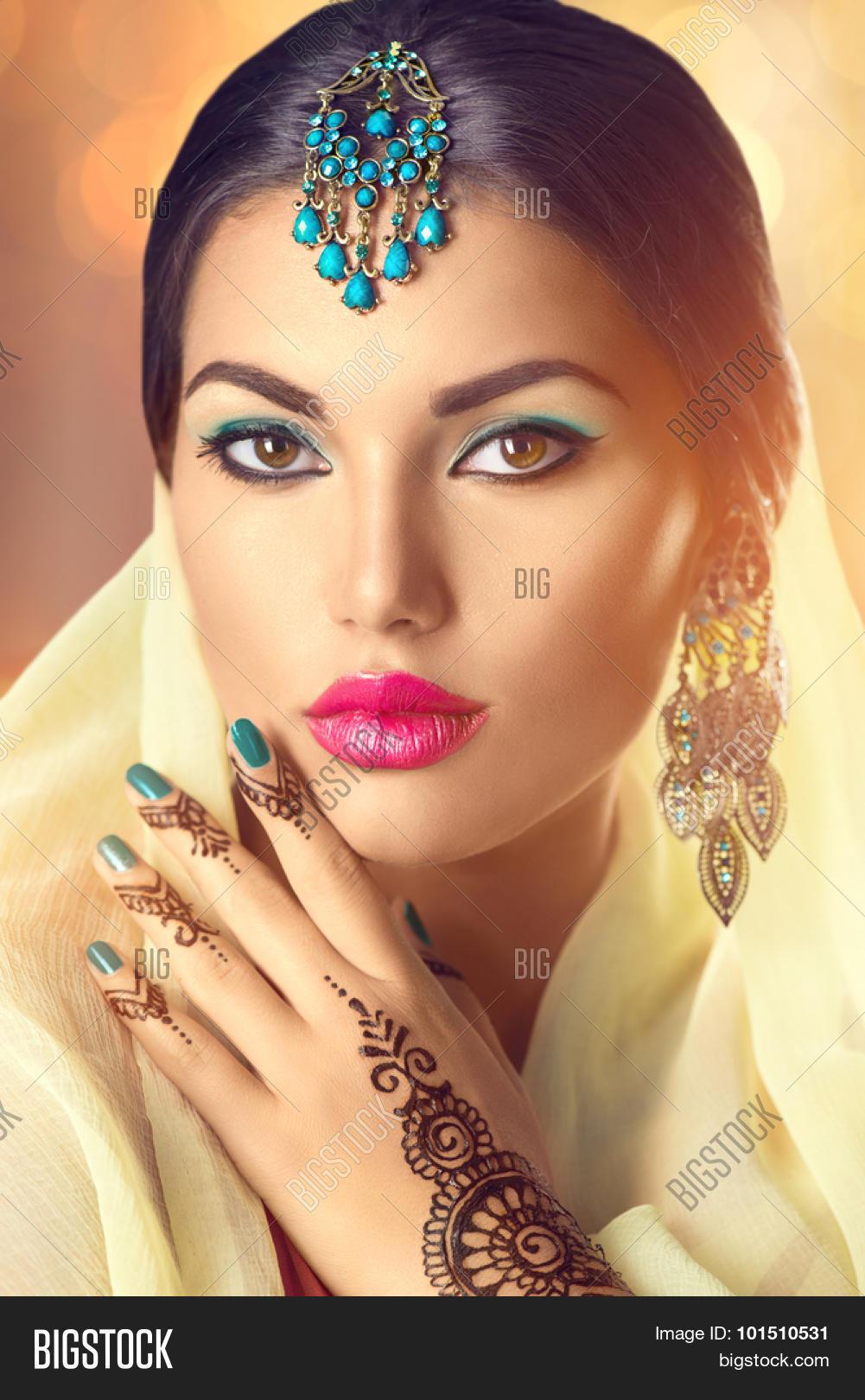 Beauty Indian Woman Image Photo Free Trial Bigstock