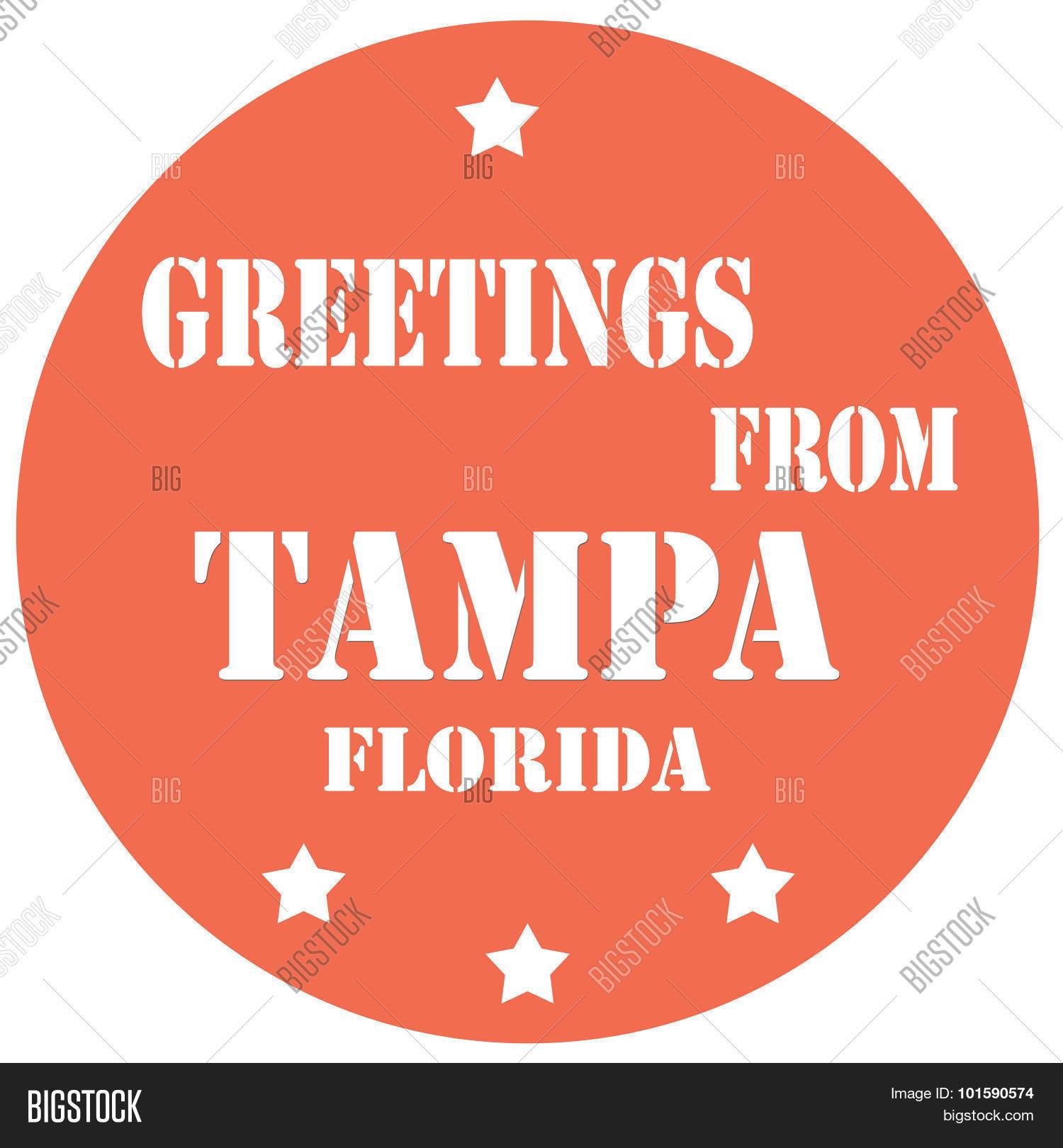 Greetings Tampa Vector Photo Free Trial Bigstock