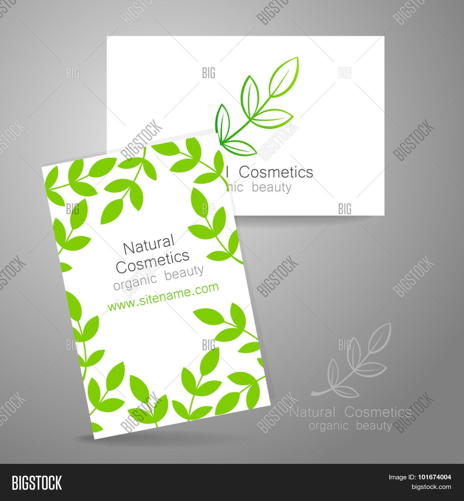 Natural Cosmetics Vector & Photo (Free Trial) | Bigstock
