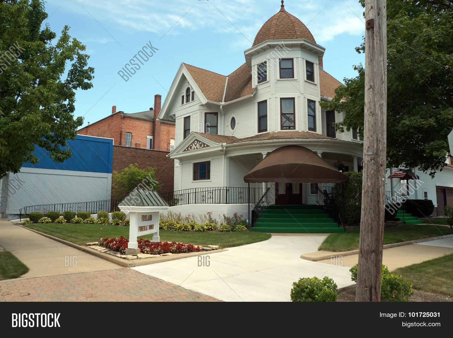 Fruland Funeral Home Image & Photo (Free Trial) | Bigstock