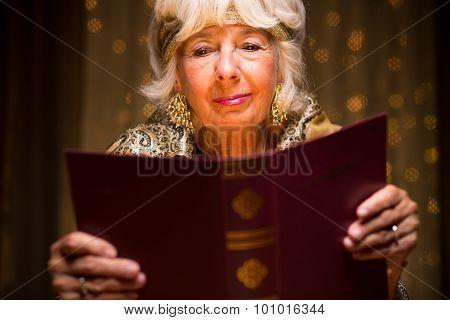 Reading A Dream Book