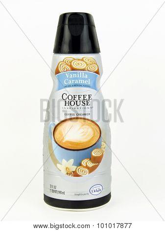 Bottle Of Coffee House Vanilla Caramel Coffee Creamer