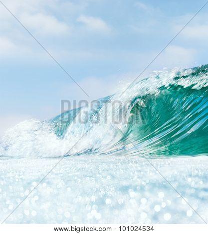Wave And Bokah Foam