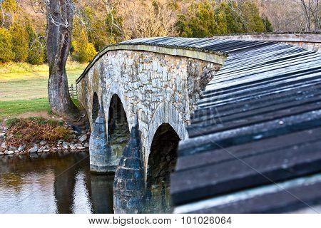 Historic Burnside Bridge over Antietam Creek