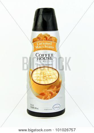 Bottle Of Coffee House Caramel Macchiato Coffee Creamer