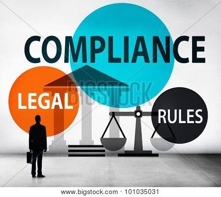 Compliance Legal Rule Compliance Conformity Concept